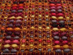 Summer and Winter Harvest Hand Woven Scarf by CraftPigeon on Etsy, €110.00