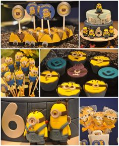 Despicable Me Minion Party with Awesome Ideas via Kara's Party Ideas KarasPartyIdeas.com #Minion #PartyIdeas #Supplies