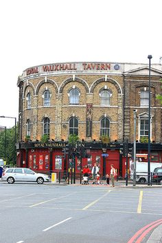 """""""Royal Vauxhall Tavern"""" enjoy the Royal Vauxhall Tavern. A fun nite out shows with Drag Queen, this is my cup of tea! London Must See, London Attractions, My Cup Of Tea, London Travel, Things To Do, Beautiful Places, Gay, England, Street View"""