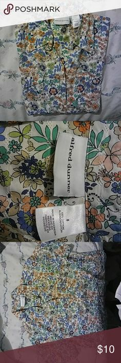 Alfred Dunner Top New no tag Tops Button Down Shirts