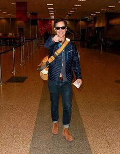 Tom Cavanagh Photos - Celebs spotted at the Salt Lake City Airport. - Celebs Spotted at the Salt Lake City Airport Salt Lake City Airport, Eobard Thawne, Team Arrow, Fastest Man, The Cw, Celebs, Celebrities, The Flash, Actors & Actresses