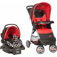 Traveling with your new little Mickey Mouse fan will be safe, easy, and magical in the Disney Amble Travel System. This convenient system grows with your baby and easily transitions from an infant car seat carrier to a travel system and toddler stroller. Toddler Stroller, Best Baby Strollers, Car Seat And Stroller, Travel Stroller, Umbrella Stroller, Baby Car Seats, Double Strollers, Baby Mickey Mouse, Quad