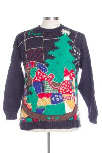 Black Ugly Christmas Pullover 29601