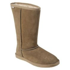 Womens Pawz by bearpaw Paradise 12-Inch Classic Boots - Light Brown (9)