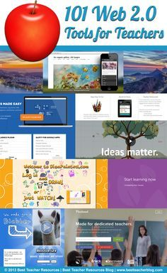 101 Web 2.0 Tools Every Teacher Should Know About…