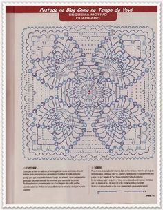 Big Square crochet pattern