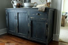 Farmhouse Buffet { Free DIY Plans } Rogue Engineer