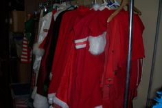 We have multiple Santa sets includng suits, hats, belts, boots, wigs and beards. Both Jolly old elves and more religious renditions. Office Christmas Party, Christmas Costumes, Beards, Elves, Wigs, Santa, Boots, Collection, Christmas Fancy Dress