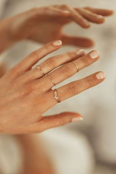 moissanite engagement ring white gold diamond wedding band Forever Classic moissanite ring Marquise band women promise ring - Fine Jewelry Ideas Minimal and dainty stacking rings