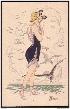 """modello di """"donna sirena"""""""