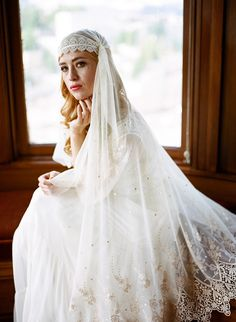 Feminine, Romantic and Elegant Wedding Veils With Enchanting Bridal Underpinnings | Love My Dress® UK Wedding Blog
