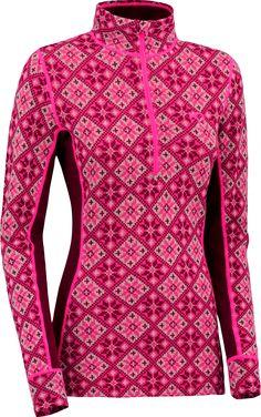 Kari Traa Female Rose Half-Zip Long Underwear Top - Women's