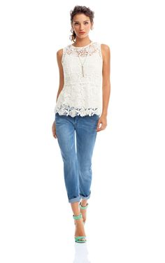 I want the top and the jeans!! CAbi Spring 2014