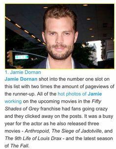 Number 1 in Just Jared Most Popular Actors Top 25, 2016!