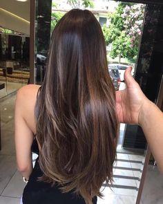 Brown Hair Balayage, Brown Blonde Hair, Hair Color Balayage, Long Brunette Hair, Subtle Balayage, Black Hair, Asian Balayage, Balayage Straight Hair, Brown Ombre Hair