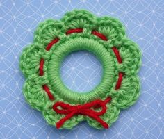 Christmas Wreath Ring Christmas Ornament free pattern