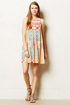Amalie Swing Dress #anthropologie
