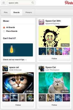 Pinterest has lots and lots and lots of boards with space cat. http://www.pinterest.com/search/boards/?q=space%20cats