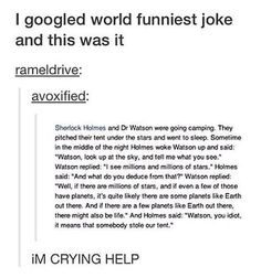 Sherlock and Watson, the best of times.