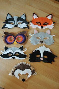 Hedgehog Mask by littlegiantleap on Etsy, $24.00