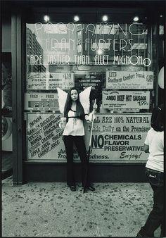Pro player, Angel Paglia.  Shot in NYC, by Lara Rossignol, for Billards Digest.