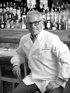 Iron Chef Geoffrey Zakarian. Brilliant!