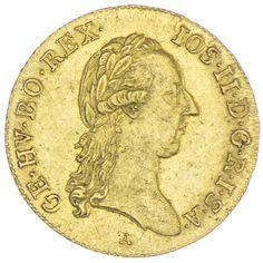 Dukat 1787 A RDR Haus Österreich Josef II. 1765/80 - 1790