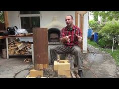 ▶ E47 Rocket Mass Heaters: A better burning wood stove - YouTube