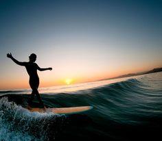 #surf #longboard