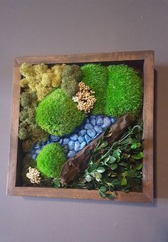 Items similar to Preserved Moss Wall Garden on Etsy
