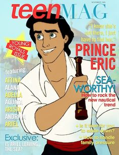 These 15 Disney Prince Magazine Covers Are Everything! | M Magazine