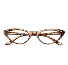 Amazing leopard print + flattering cat eye = The Brit. | Readers.com Reading Glasses