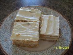 Cream of Wheat Squares
