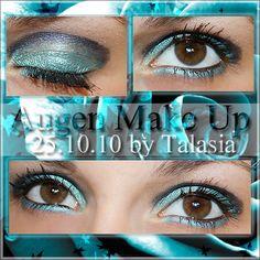Eye Make Up - Datum: 25.10.10  http://talasia.blogspot.de/2010/11/amu-kiko-double-glam-eyeliner-07-aqua.html