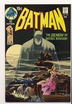 Neal Adams dibuja la cubierta de Batman #277