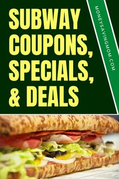 Be sure to read this to get your BOGO sub deal next time you are ready to order out! Don't pay full price at Subway! Money Saving Mom, Make Money Blogging, Subway Sandwich, Restaurant Deals, Paying Off Credit Cards, Frugal Living Tips, Frugal Meals, Budgeting Finances, Menu Planning