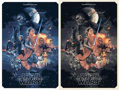 Dos nuevos carteles de  Star Wars realizados por  Gabz)