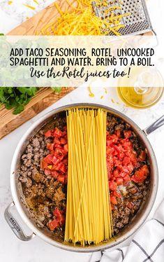 Baked Pasta Recipes, Baked Salmon Recipes, Cooking Recipes, Ww Recipes, Soup Recipes, Cake Recipes, Hotdish Recipes, Easy Casserole Recipes, Taco Spaghetti