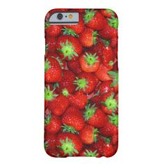 Strawberry  I phone 6 protective case