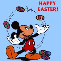 Mickey Happy Easter  hoyle world