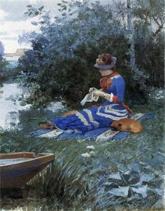 William Henry Lippincott was an American landscape painter and portraitist 1849-1920 USA