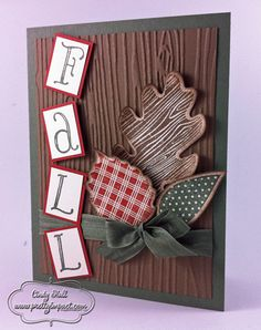 Noteable Fall by Cindy Hall - Cards and Paper Crafts at Splitcoaststampers