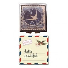 Paper Plane compact mirror