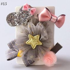 Obedient Korea Cotton Flower Crystal Crown Side Bangs Clip Hair Accessories Rim Hair Clips For Girls Hairpin Bow K Hairgrips Girl's Accessories