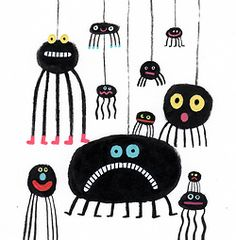 Monster mobilé perfect for Halloween