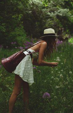 My Fotolog--picking dandelions