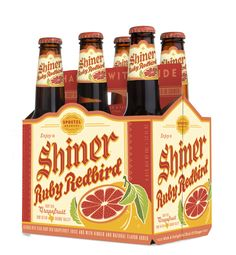 Shiner Ruby Redbird Six Pack