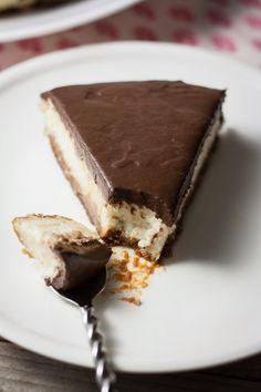 Cheesecake chocolat / coco {vegan} | Objectif : Zéro Miette!