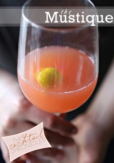 The Mustique  1 measure (1.5 tablespoons) light rum* 1 measure (1.5 tablespoons) orange juice ½ measure (2 teaspoons) lemon juice ¼ measure (1 teaspoon) grenadine Champagne Instructions: Shake all but the last ingredient with ice. Strain into a large wine glass. Top with fizz, and garnish with a half-slice of lemon.