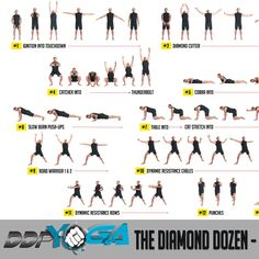 ddp yoga recommended schedule  health mode  pinterest